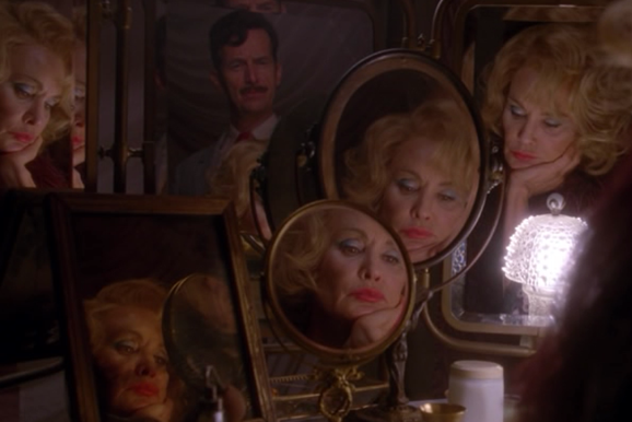 A sulky Elsa = farewell, twins. (Jessica Lange x 5, Denis O'Hare, American Horror Story: Freak Show, FX)